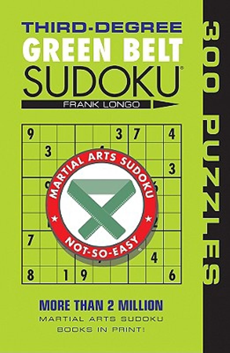 Third-Degree Green Belt Sudoku (R)