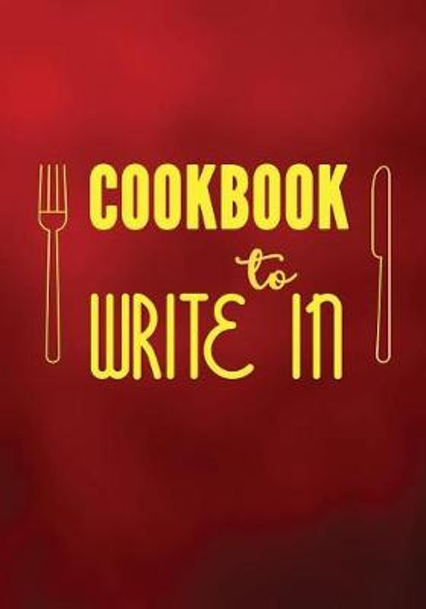 Cookbook to Write in