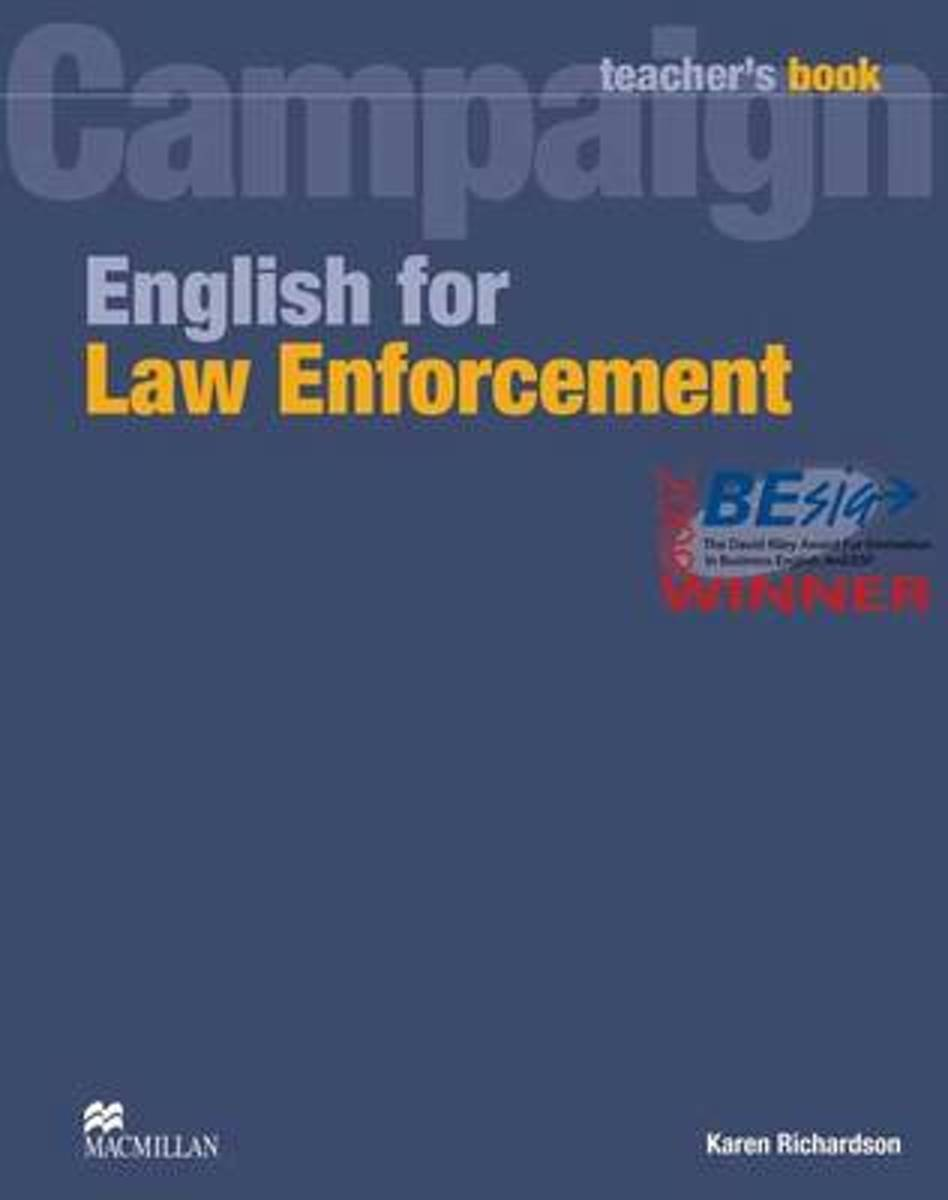English for Law Enforcement Teacher Book image