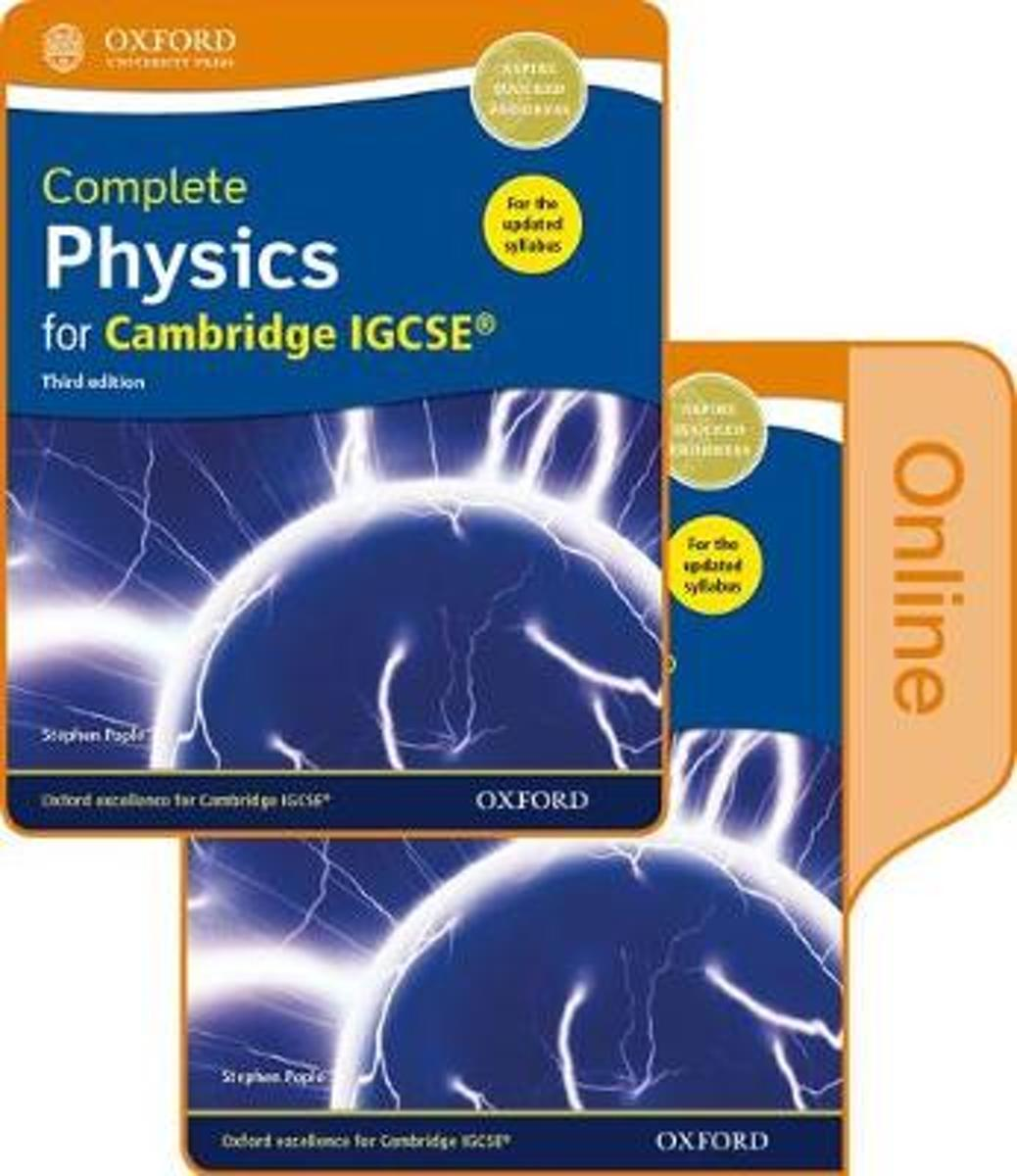 Complete Physics for Cambridge IGCSE (R) Print and Online Student Book Pack