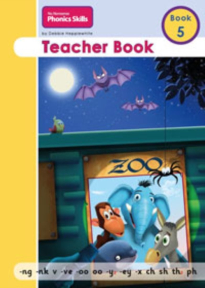 No Nonsense Phonics Skills Teacher Book 5