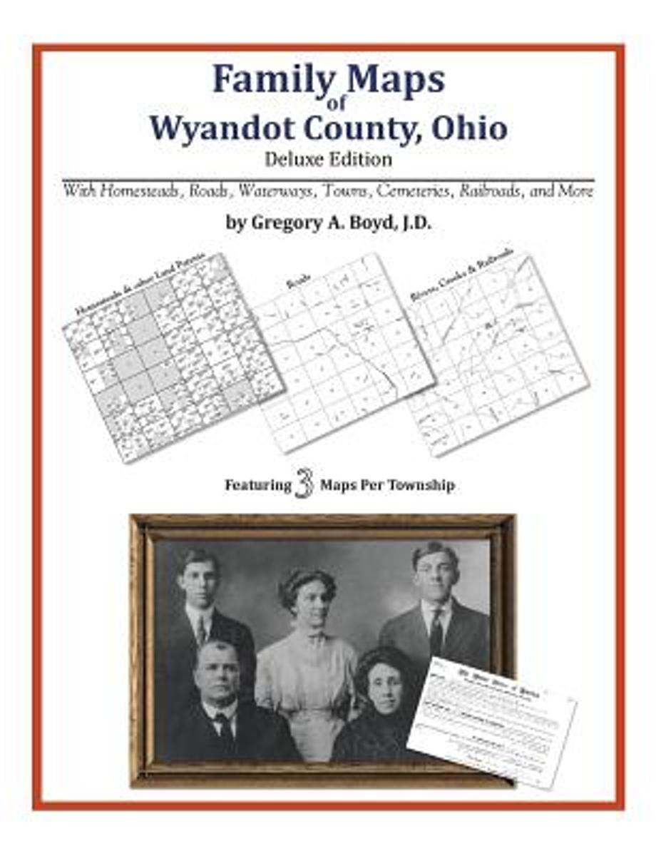 Family Maps of Wyandot County, Ohio