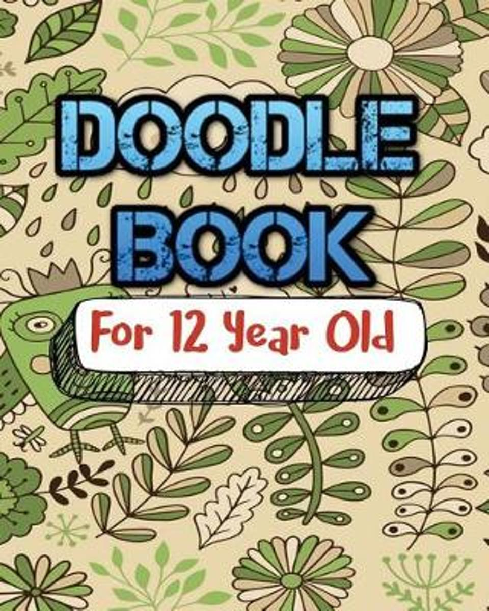 Doodle Book for 12 Year Old