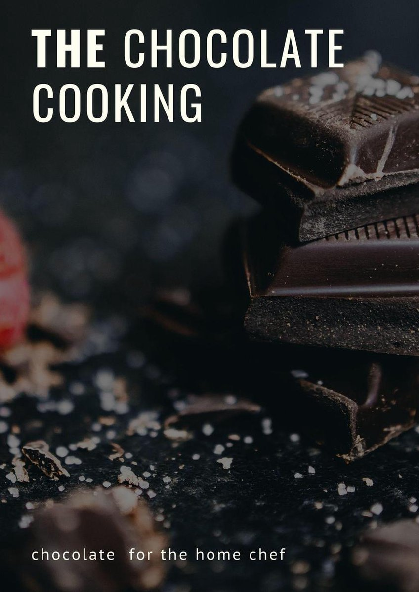 the chocolate cooking