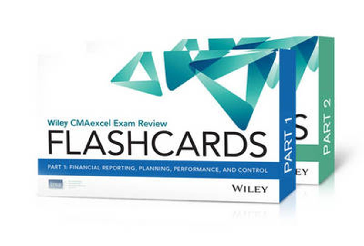 Wiley Cmaexcel Exam Review 2016 Flashcards
