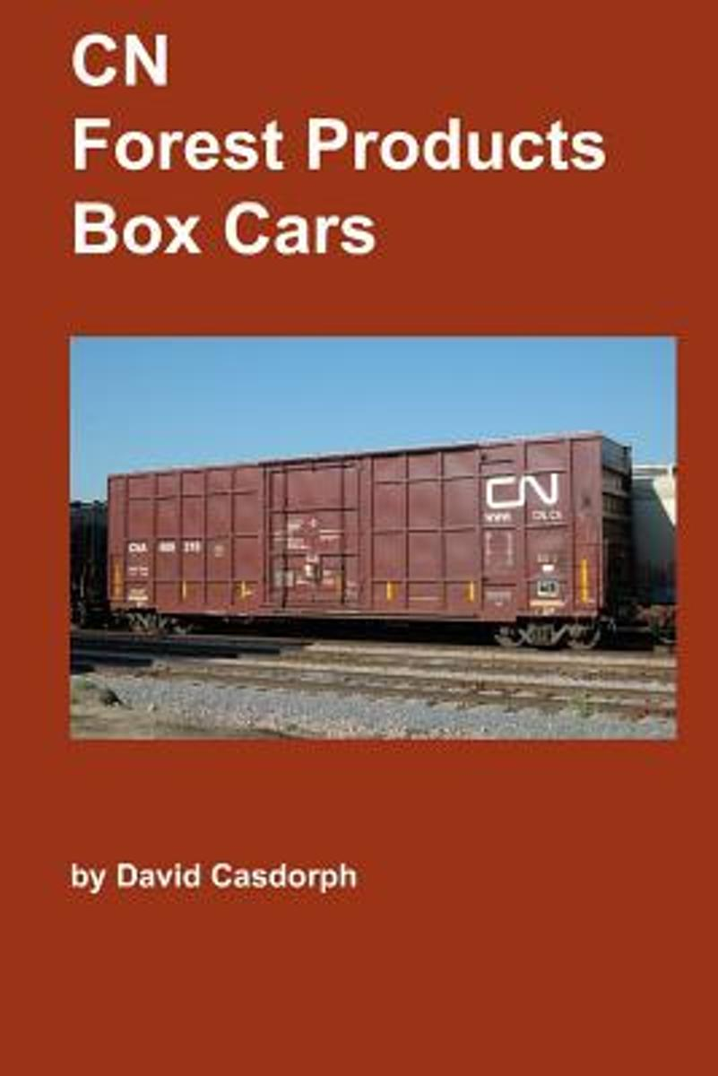 Cn Forest Products Box Cars