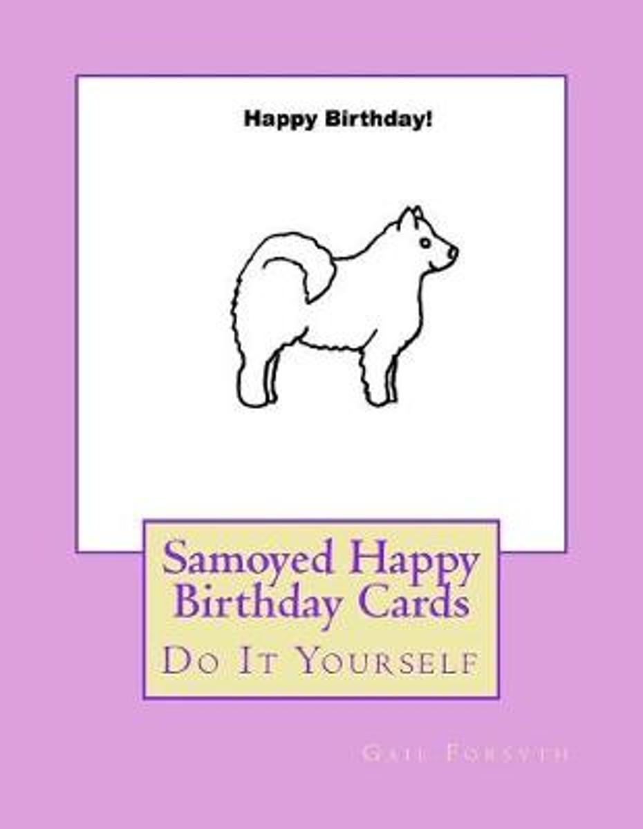 Samoyed Happy Birthday Cards
