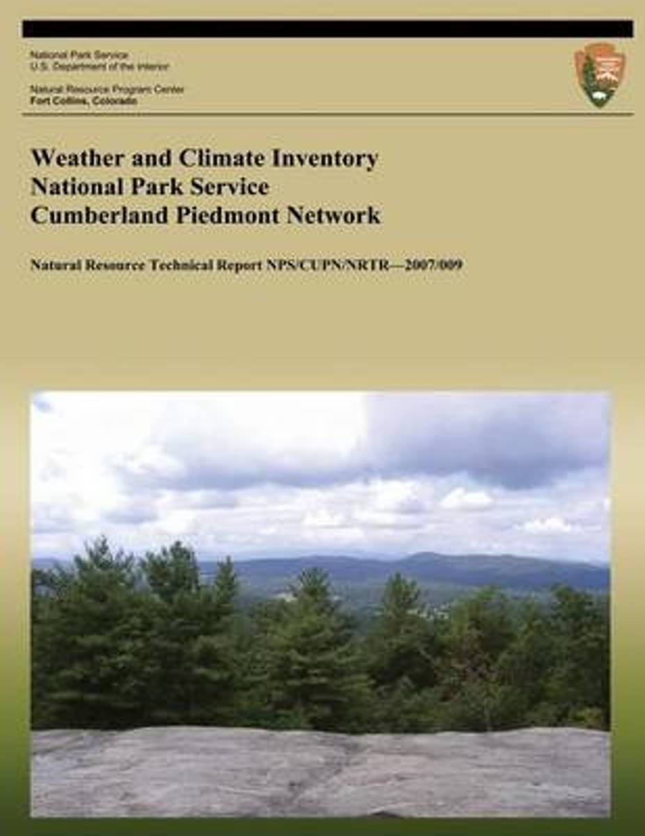 Weather and Climate Inventory National Park Service Cumberland Piedmont Network