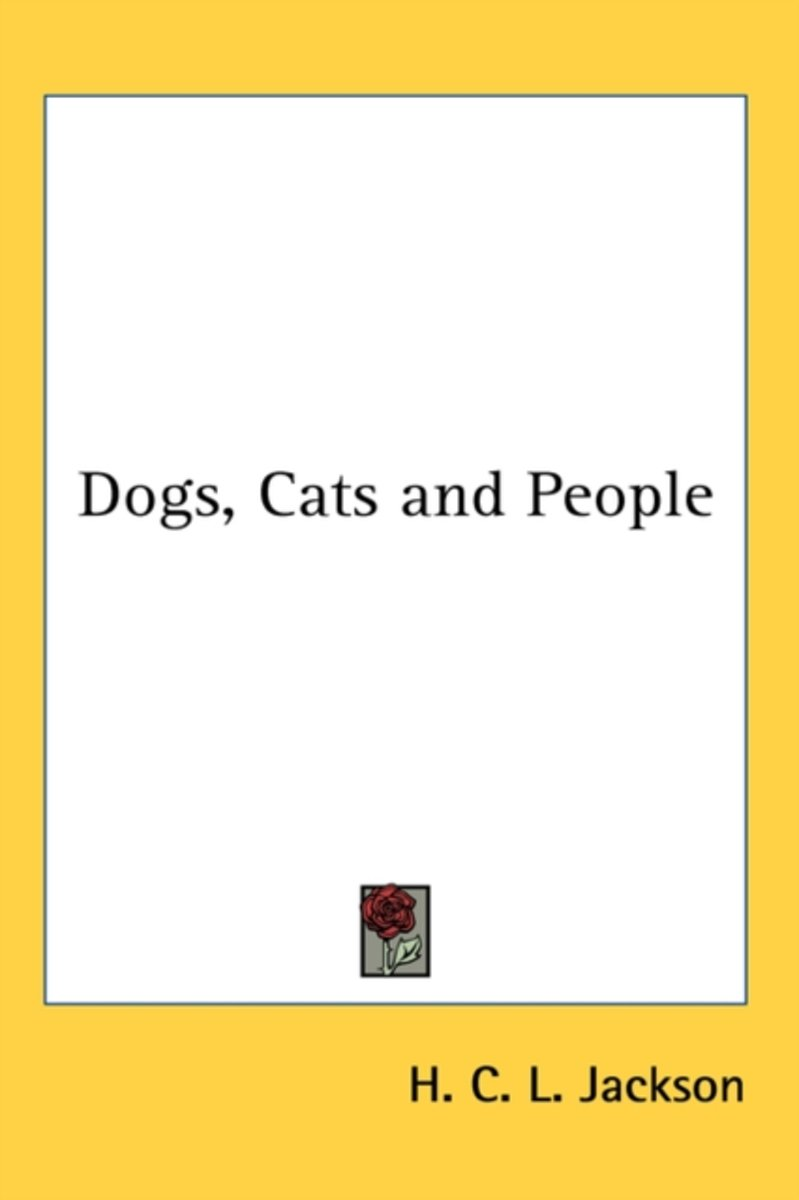 Dogs, Cats and People