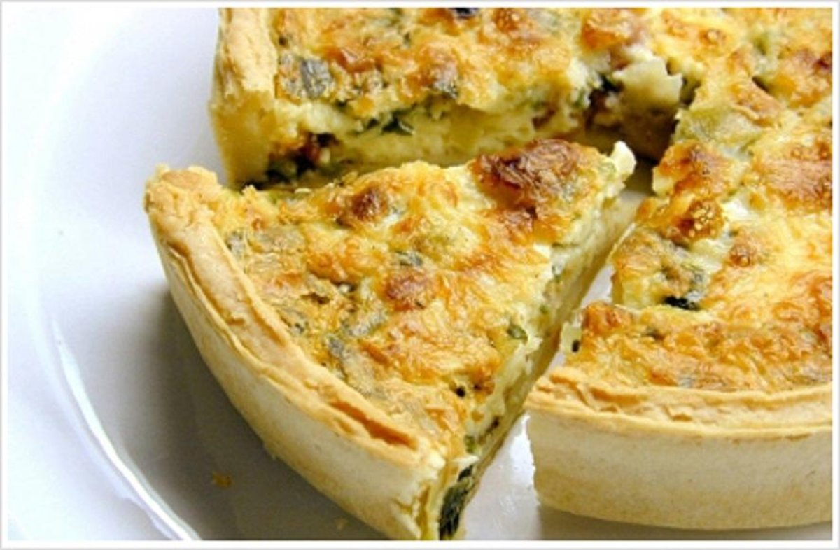The Quiche Cookbook - 150 Recipes