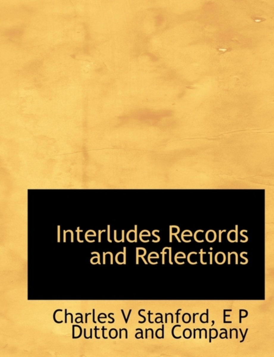 Interludes Records and Reflections