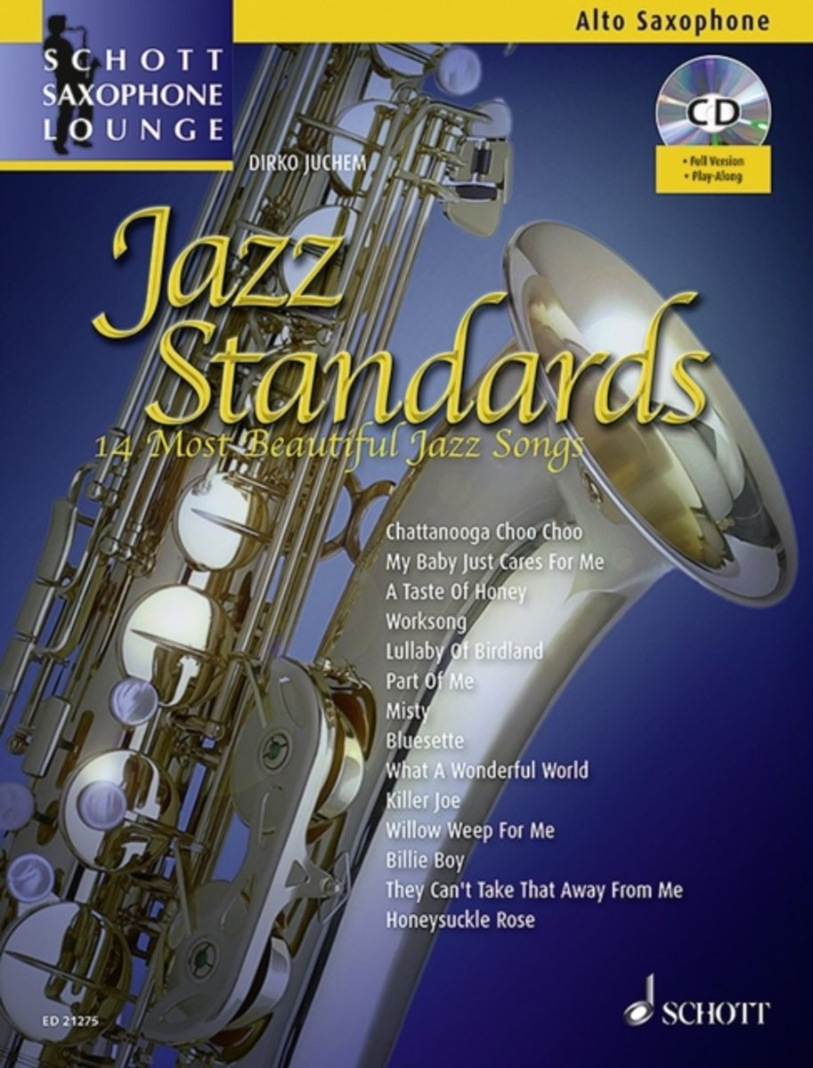 Jazz Standards for Alto Saxophone