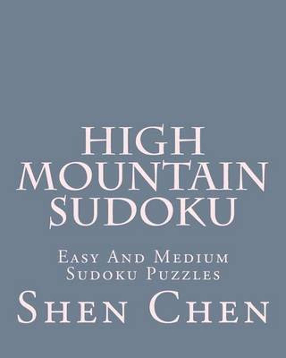 High Mountain Sudoku