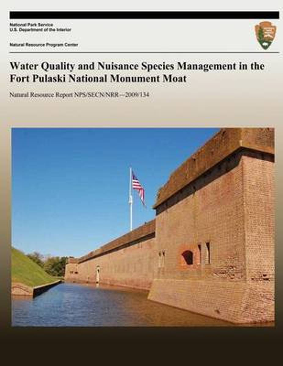 Water Quality and Nuisance Species Management in the Fort Pulaski National Monument Moat