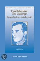 CONSTITUTIONALISM - NEW CHALLENGES: EUROPEAN LAW FROM A
