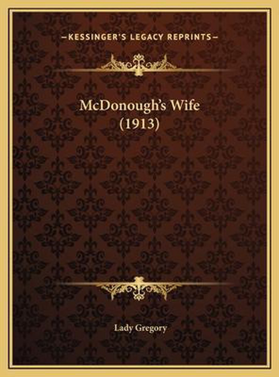 McDonough's Wife (1913)