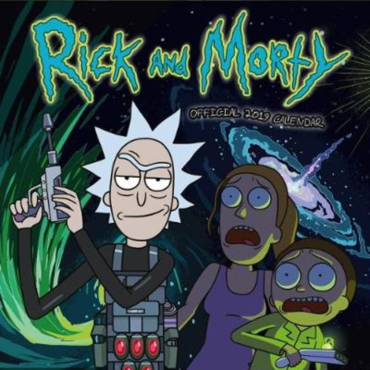 Officiële Rick And Morty Kalender 2019
