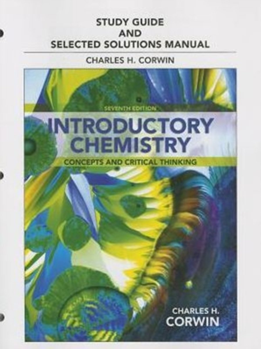 Study Guide & Selected Solutions Manual for Introductory Chemistry