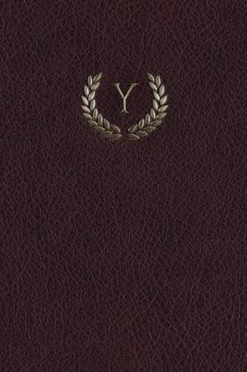 Monogram Y Any Day Planner Journal