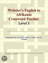 Webster's English to Afrikaans Crossword Puzzles
