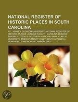 National Register Of Historic Places In South Carolina: Archaeological Sites On The National Register Of Historic Places In South Carolina