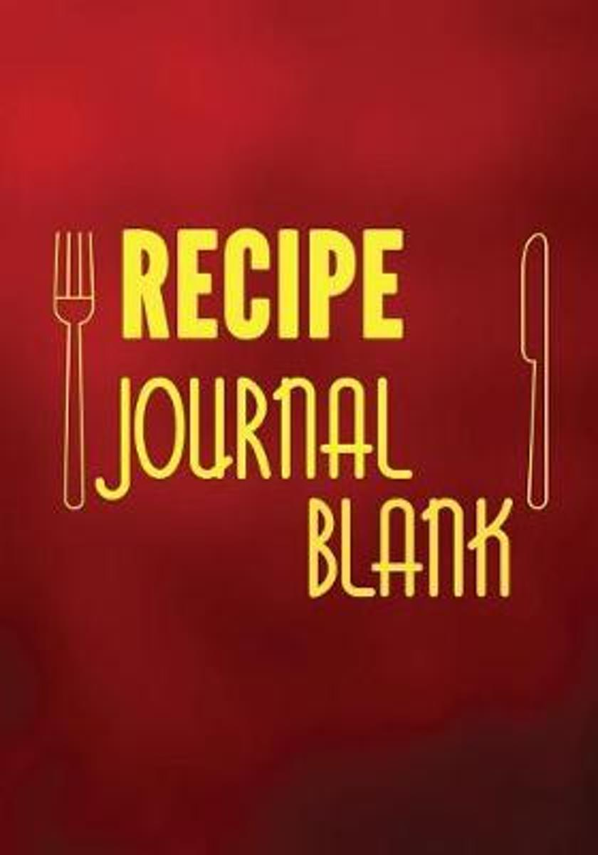 Recipe Journal Blank