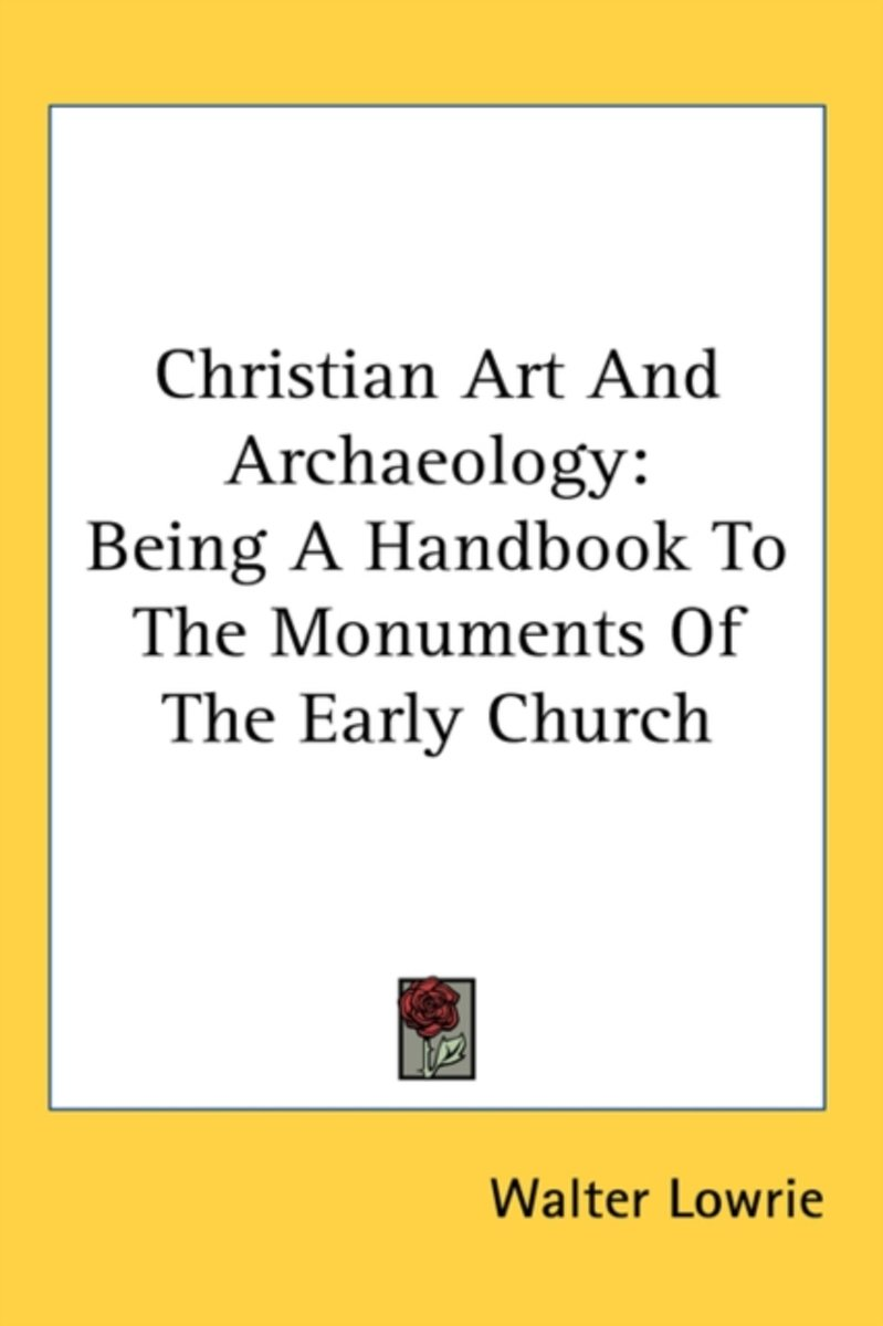 Christian Art and Archaeology