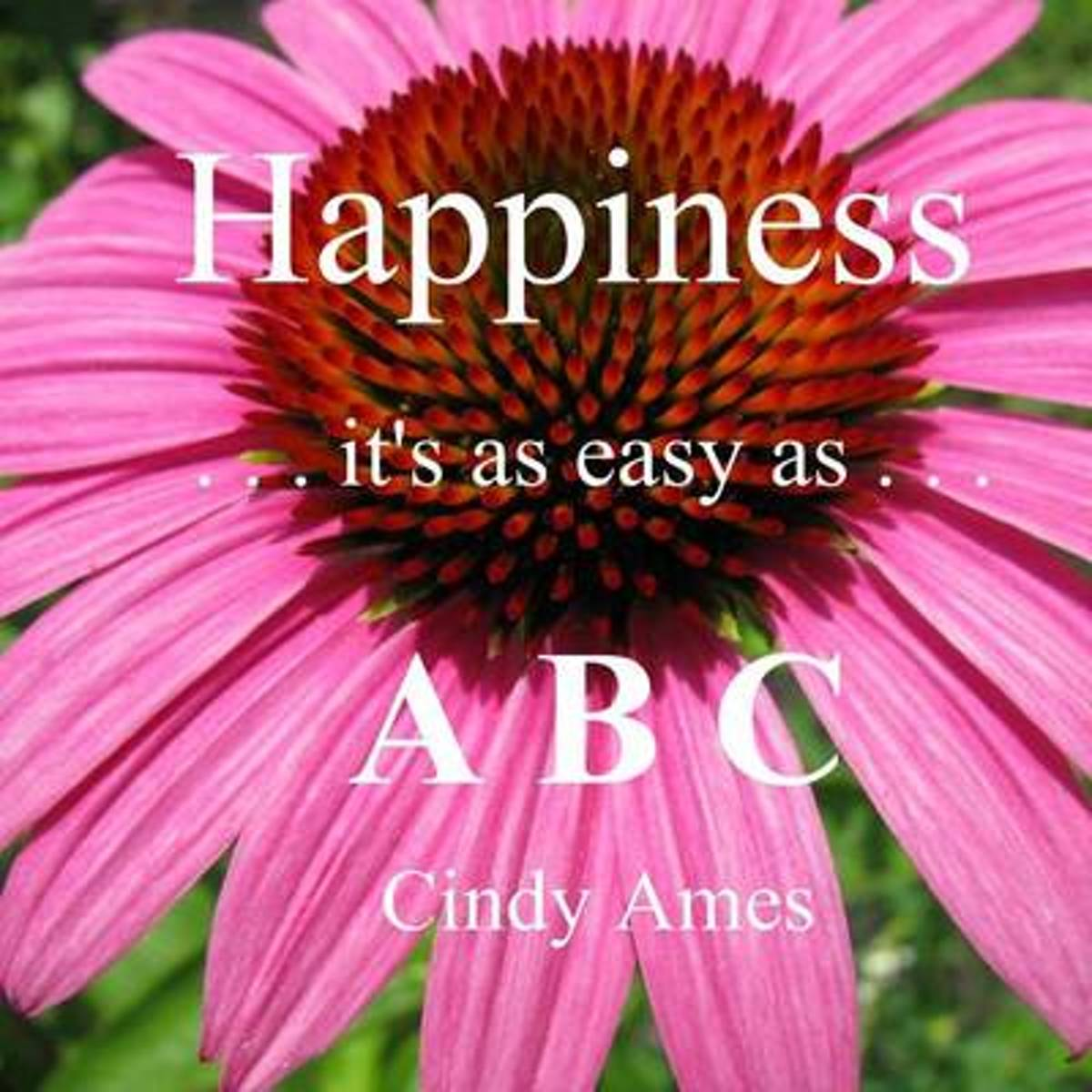 Happiness - It's as Easy as ABC