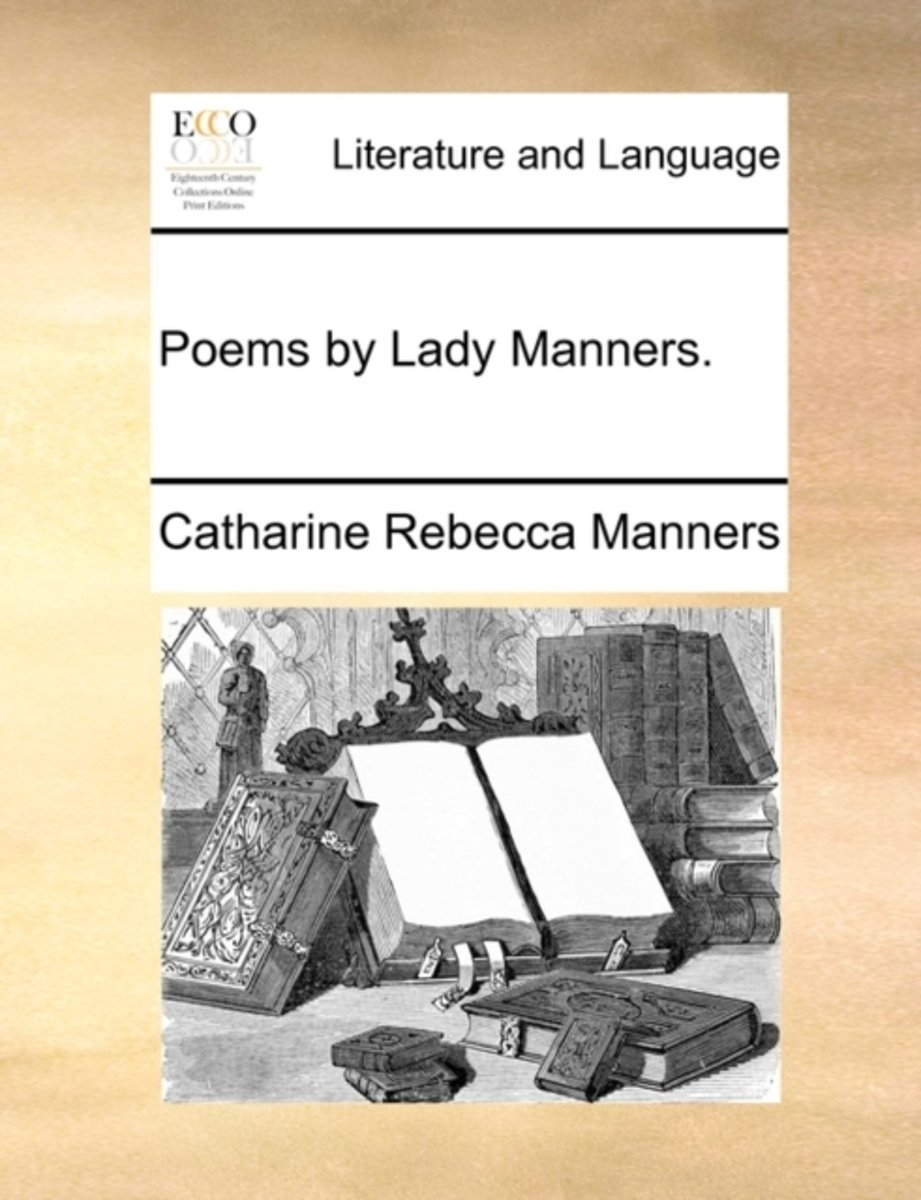 Poems by Lady Manners