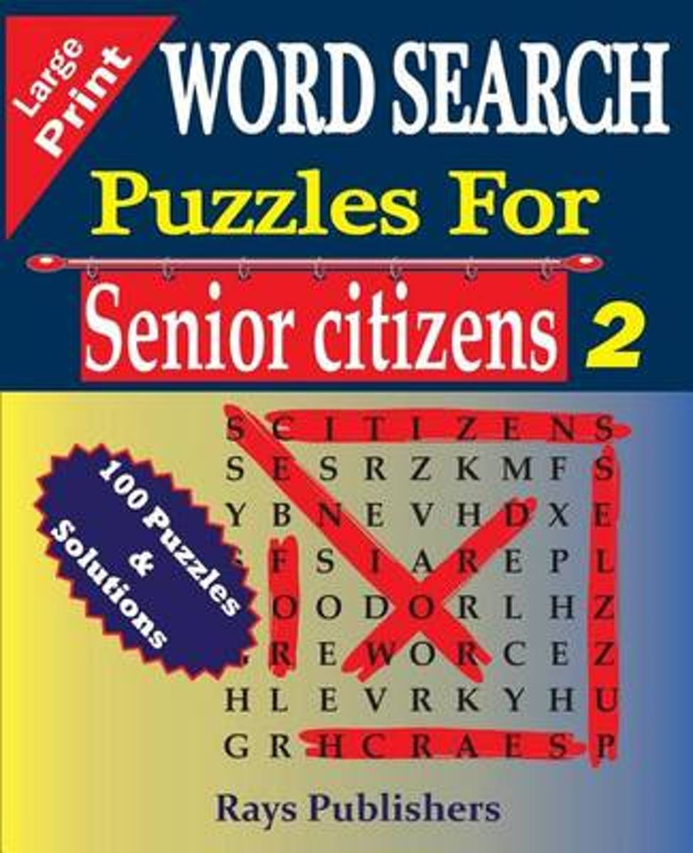 Word Search Puzzles for Senior Citizens