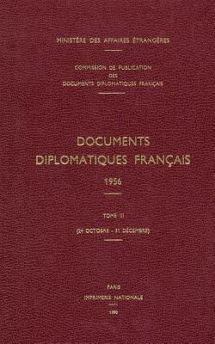 Documents diplomatiques français 1956-3