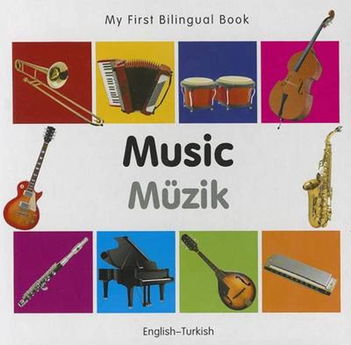My First Bilingual Book - Music