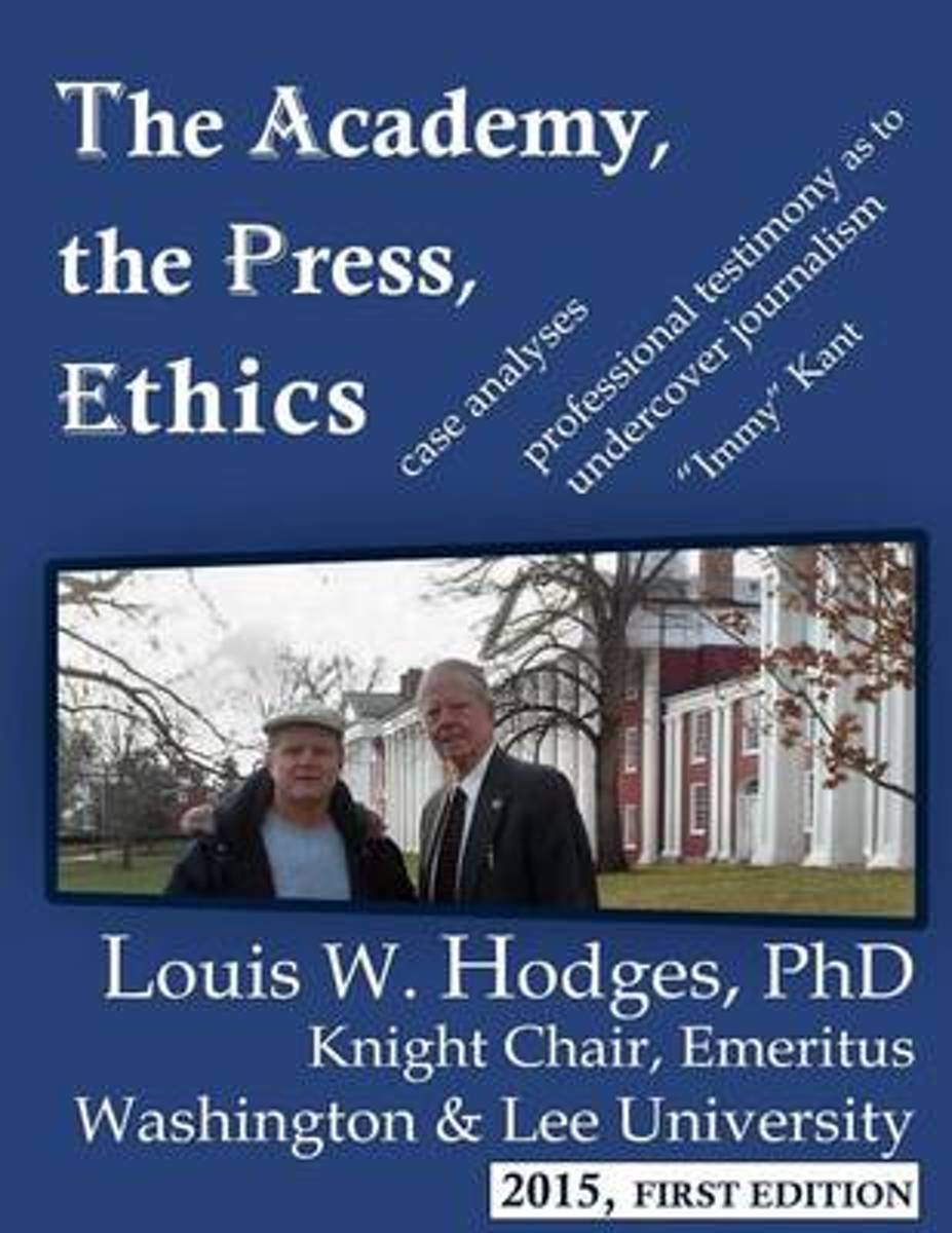 The Academy, the Press, Ethics