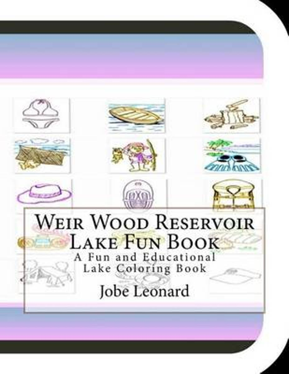 Weir Wood Reservoir Lake Fun Book