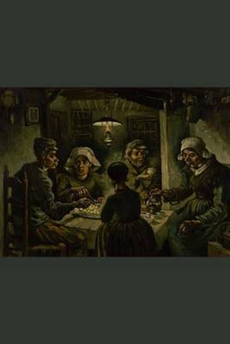 The Potato Eaters, Vincent Van Gogh. Ruled Journal