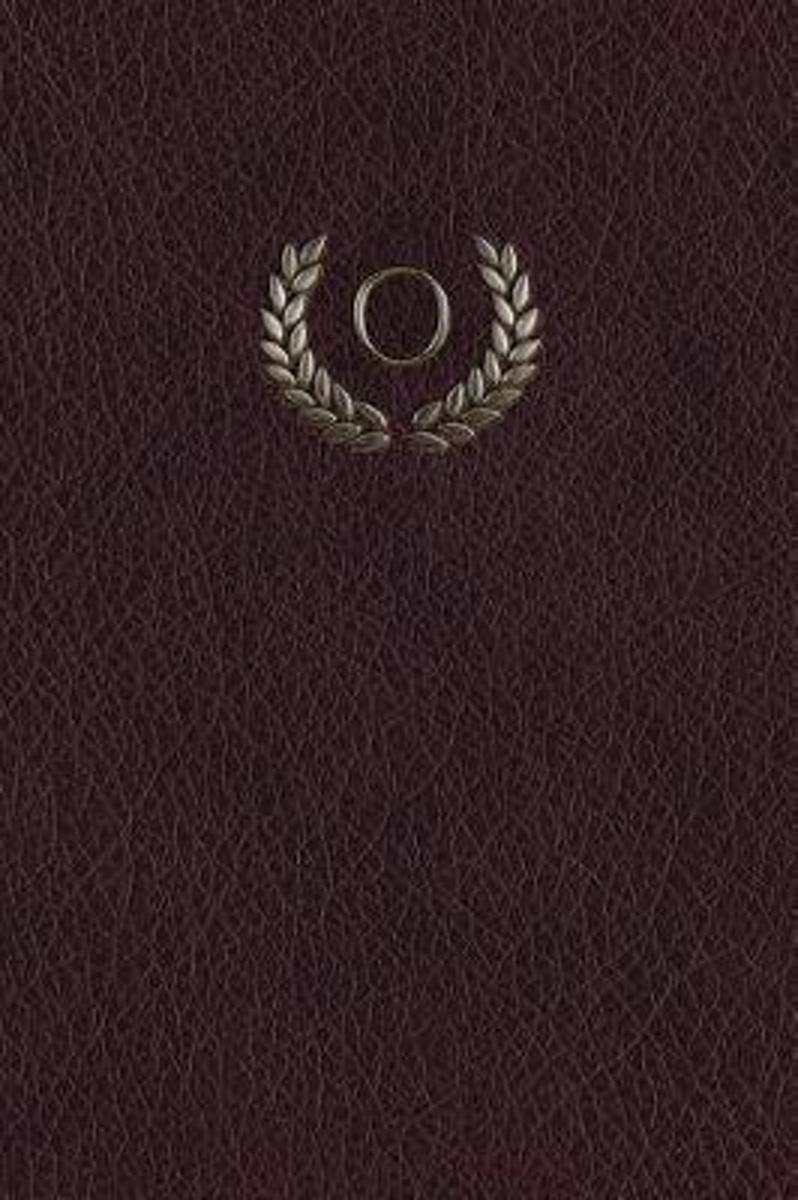 Monogram O Any Day Planner Notebook