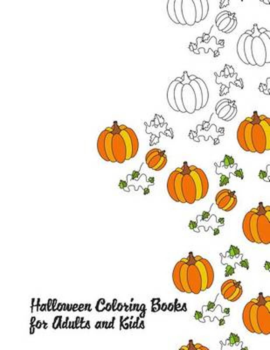 Halloween Coloring Books for Adults and Kids