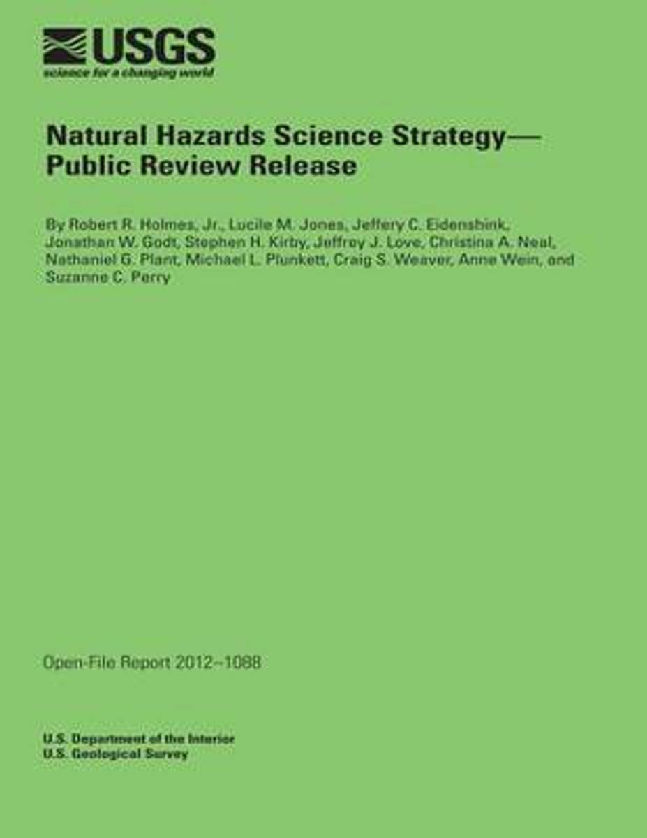 Natural Hazards Science Strategy- Public Review Release