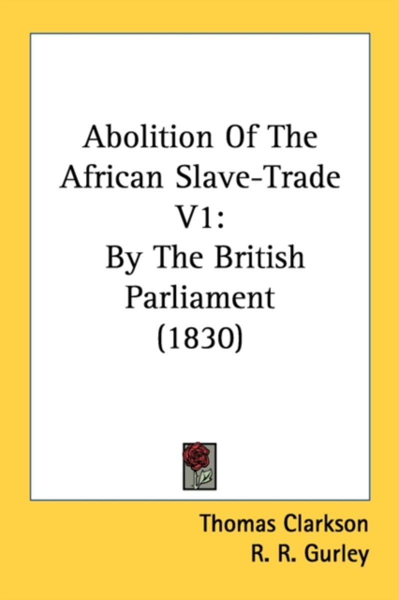 Abolition of the African Slave-Trade V1