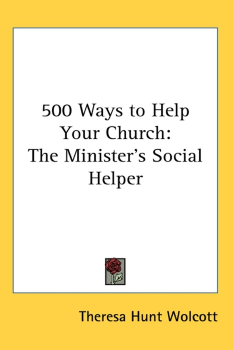 500 Ways To Help Your Church