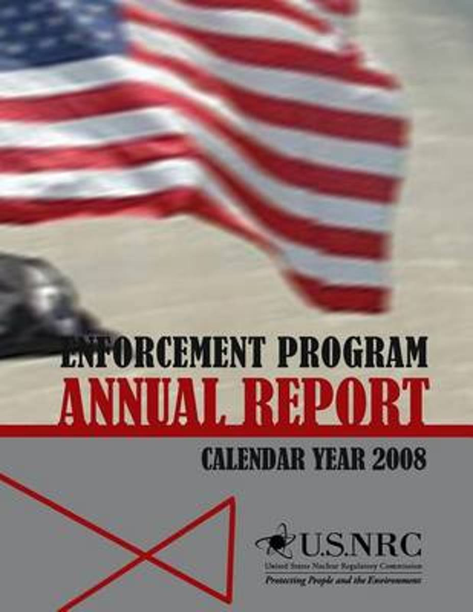 Enforcement Program Annual Report