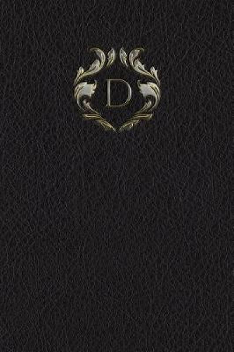 Monogram D Meeting Notebook