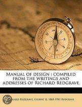 Manual Of Design : Compiled From The Wri