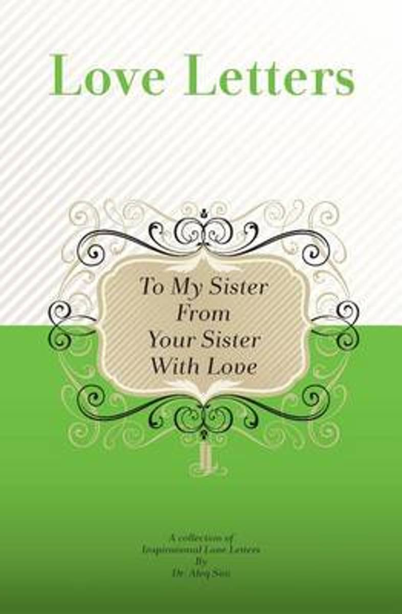 To My Sister, from Your Sister with Love