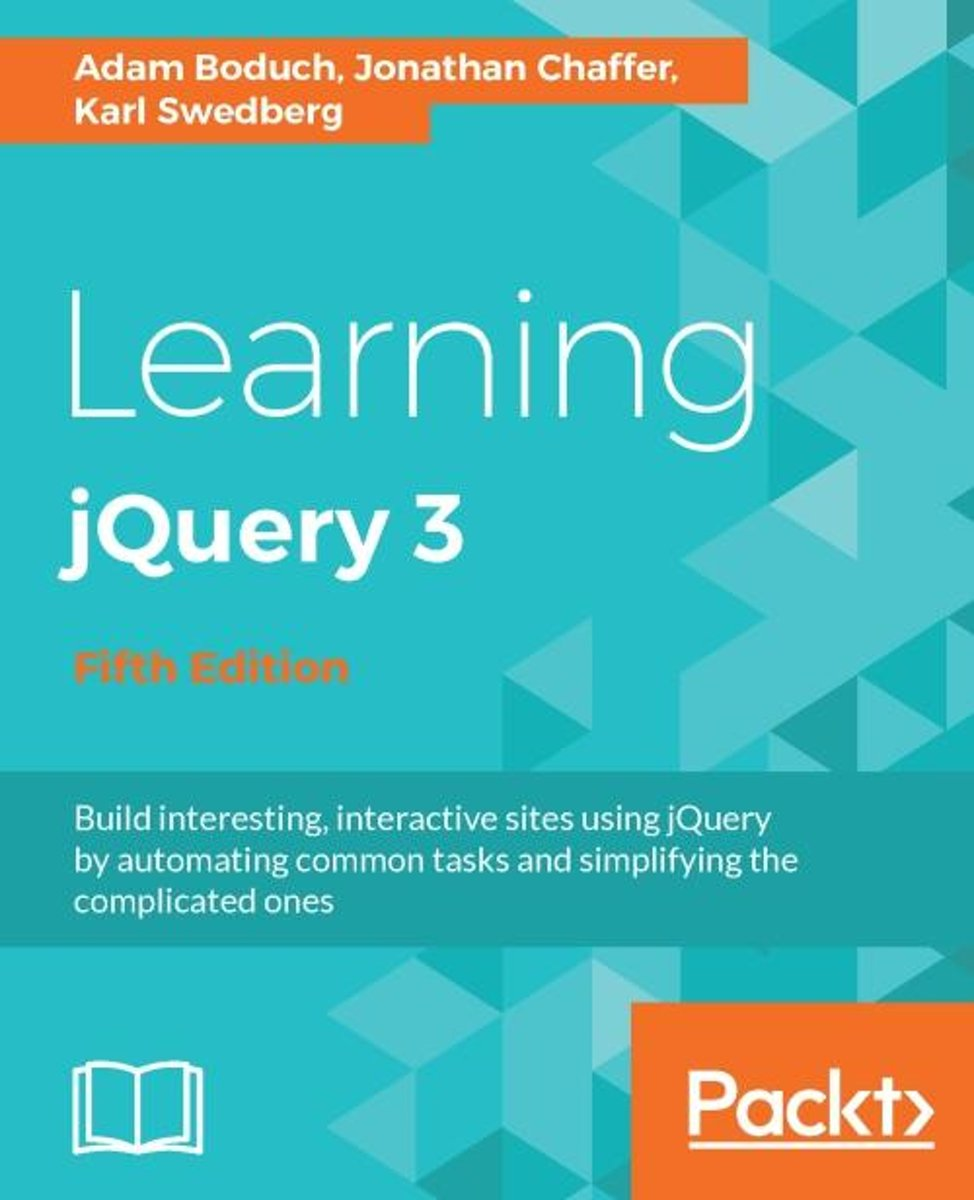 Learning jQuery 3 - Fifth Edition