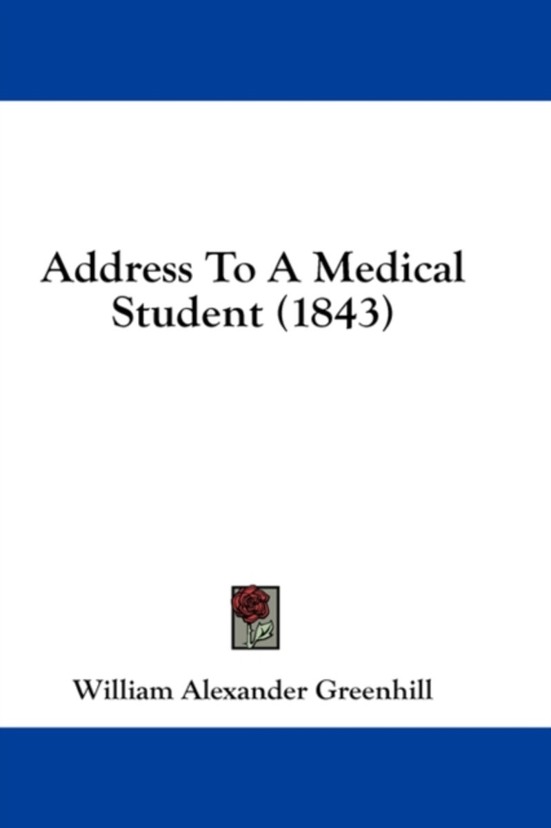 Address to a Medical Student (1843)