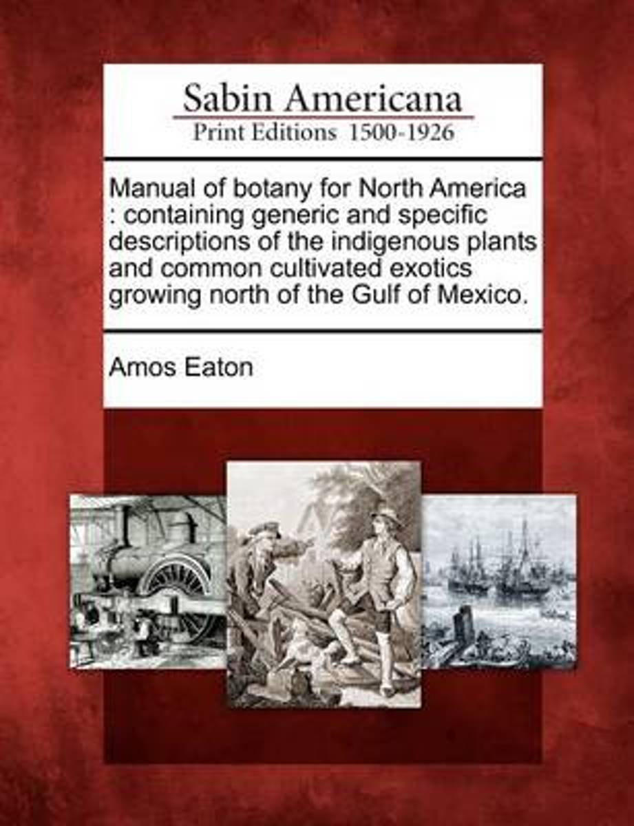 Manual of Botany for North America