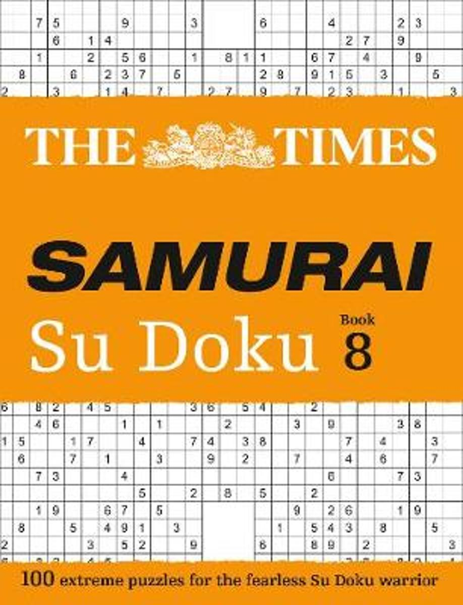The Times Samurai Su Doku 8