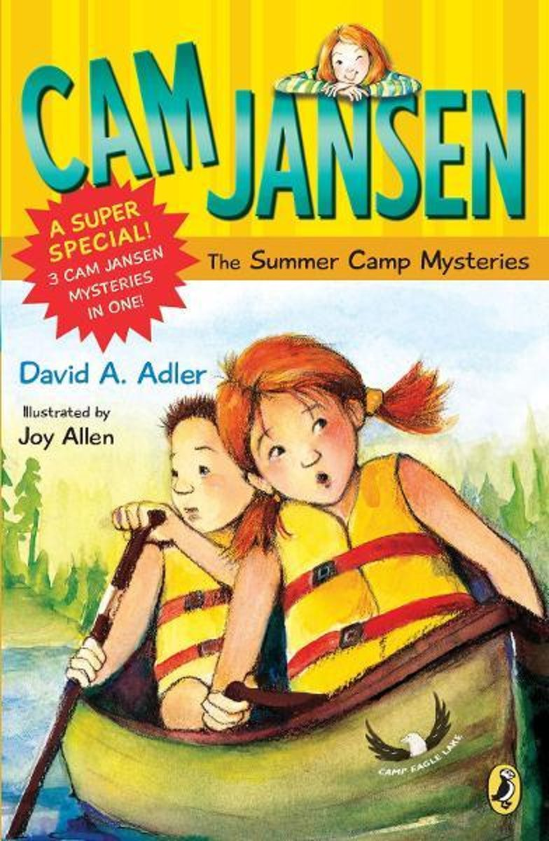 Cam Jansen: Cam Jansen and the Summer Camp Mysteries