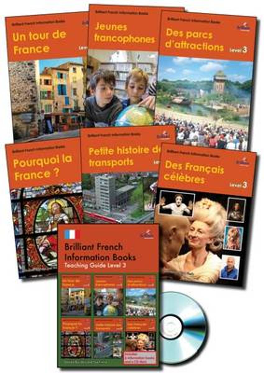 Brilliant French Information Books pack - Level 3